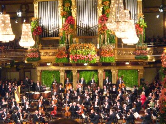 Musikverein - η αίθουσα του κονσ�ρτου