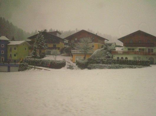 Από την διαδρομή προς Salzburg