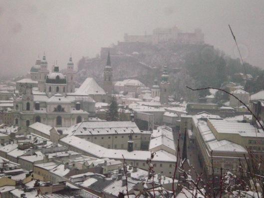 Θ�α του Salzburg από το Monchsberg