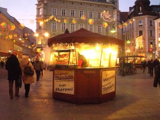 Καστανάς κοντά στην Hauptplatz