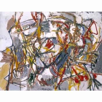 Amorous dance - Karel Appel