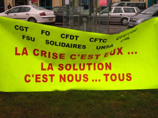Η πρωτη μερα του φεστιβαλ συνεπεσε με την πανεργατικη απεργια στη Γαλλια