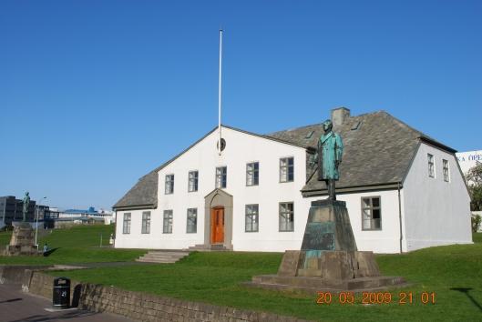 Η πρωθυπουργική κατοικία στο Ρέυκιαβικ