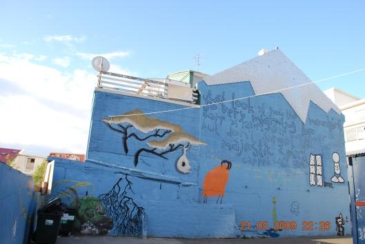 Ιλουστρασιον γκραφιτι στο Ρευκιαβικ