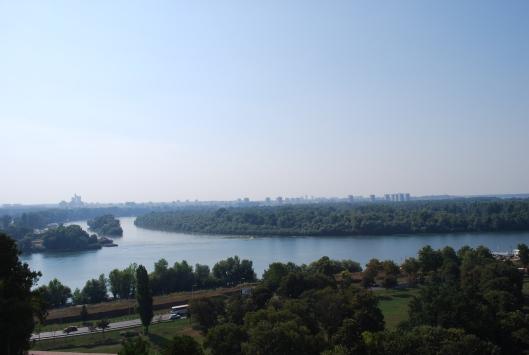 Βελιγράδι, εκεί που ο Σάββα συναντάει το Δούναβη
