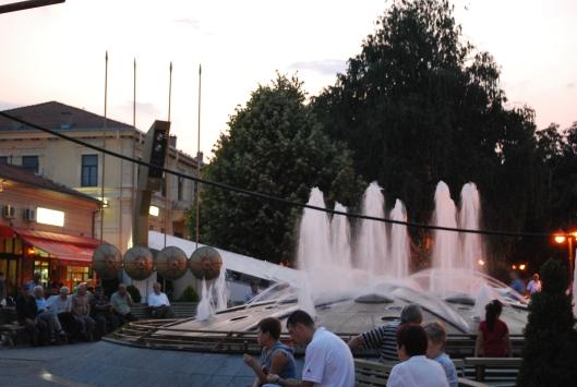 Bitola (Μοναστήρι), κεντρική πλατεία