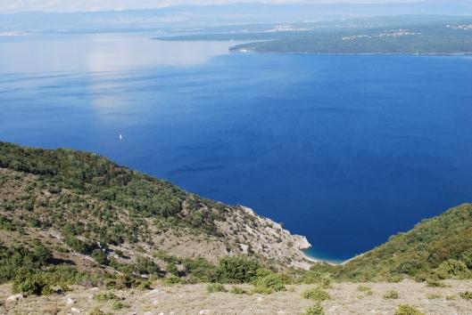Cres, η παραλία Beli, Κροατία