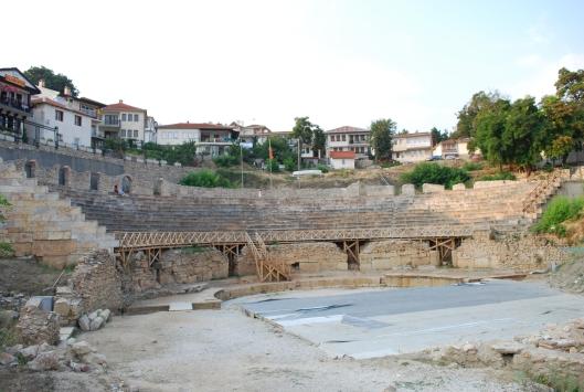 Οχρίδα, αρχαίο θέατρο