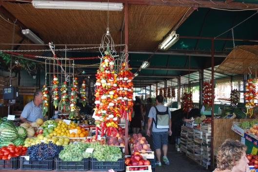 Αγορά στο Porec