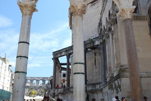 Split, το Μαυσωλείο του Διοκλητιανού, Κροατία
