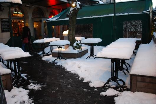 o κήπος του καφέ Terasse
