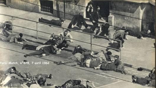 εικόνα από τη μάχη της οδού Ισλύ, Αλγέρι, Μάρτη 1962