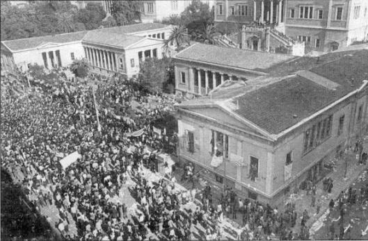 Αθήνα, Νοέμβρης του '73 - Πολυτεχνείο